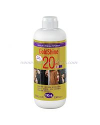 AGUA OXIGENADA 20VOL 100ML GOLDSHINE CABELO