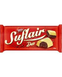 BARRA NESTLE SUFLAIR DUO 130G CHOCOLATE