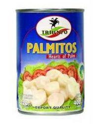 PALMITO INTEIRO TRIUNFO 14OZ ENLATADOS / VIDROS