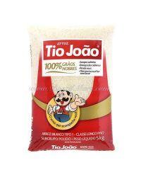 ARROZ TIO JOAO 10lb 4.54 kg CEREAIS & FARINHAS