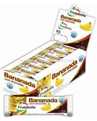 BANANADA COM CHOCOLATE CAIXA BALAS & GULOSEIMAS