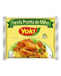 FAROFA PRONTA DE MILHO YOKI CEREAIS & FARINHAS