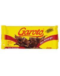 BARRA GAROTO AMARGO 180GR CHOCOLATE