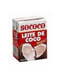 LEITE COCO SOCOCO 200ML ENLATADOS / VIDROS