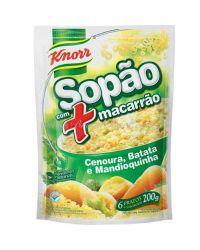 SOPÃO MACARRÃO CENOURA BATATA MANDIOQUINHA SOPAS & CREMES