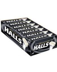 HALLS PRETO CAIXA BALAS & GULOSEIMAS