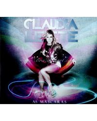 CD CLAUDIA LEITE MASCARAS AXÉ