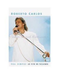 DVD ROBERTO CARLOS PRA SEMPRE MÚSICA