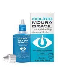 COLIRIO MOURA BRASIL SAÚDE