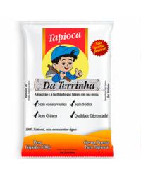 TAPIOCA HIDRATADA DA TERRINHA 500G CEREAIS & FARINHAS